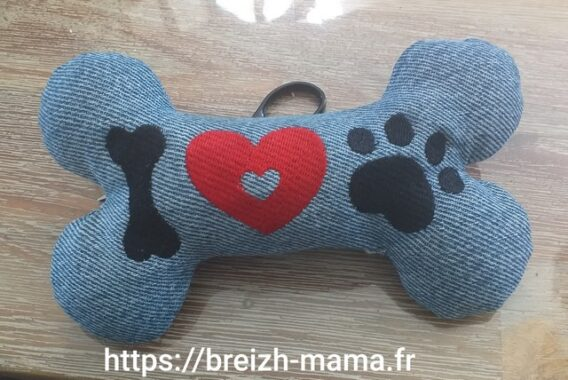 Broderie Love Dog4